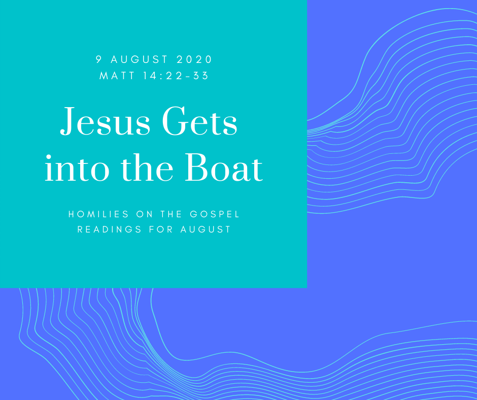 Jesus Gets into the Boat