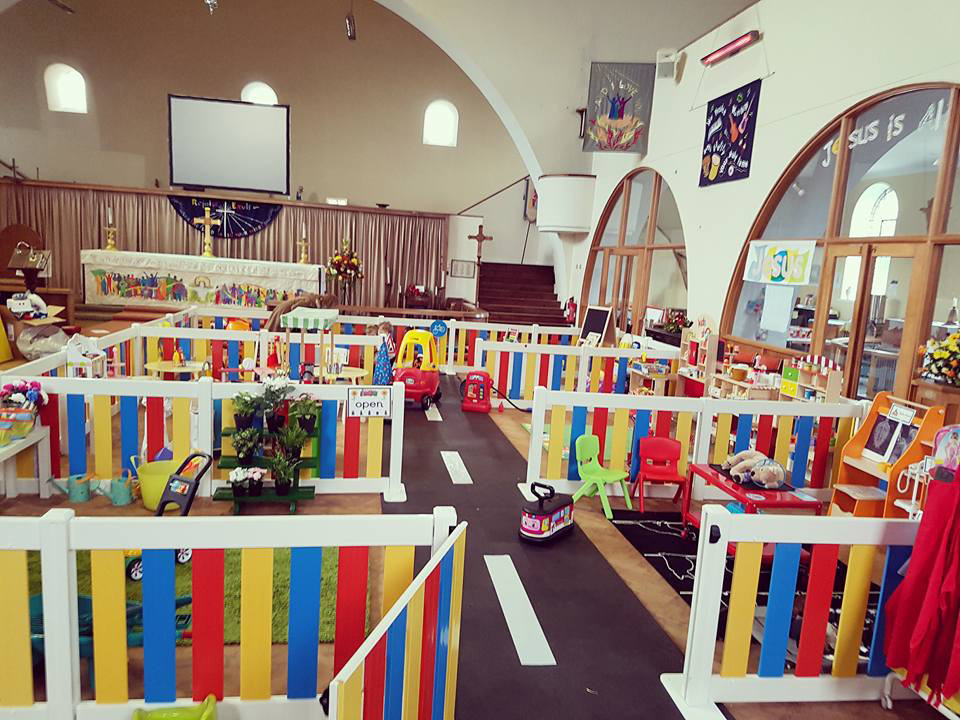 The Ickle Village role play centre at St Winfrid's Church, Totton receives 500 visitors a week
