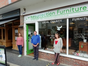 Second-hand furniture shop helps revive Alton community during COVID pandemic.