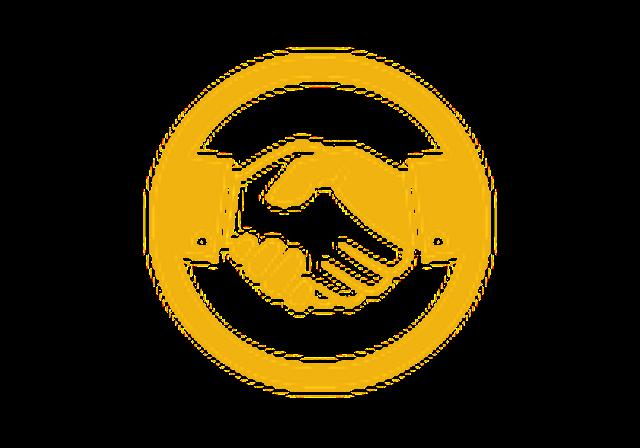 Handshake - Gold