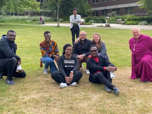 Basingstoke Unites Against Racism: Protest in War Memorial Park