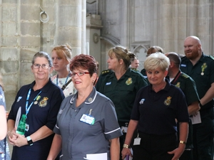 WINCHESTER CATHEDRAL CELEBRATES 70 YEARS OF THE NHS