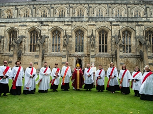 26 new members of the clergy ordained in Winchester as the Diocese