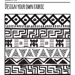 Rwanda Series - Colour it in - Fabric