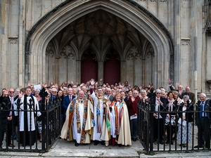 Over one hundred lay people take on new roles in the Diocese of Winchester