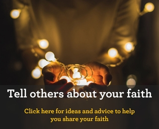 Tell others about your faith