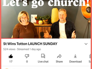 Relaunch of St Wins, Totton