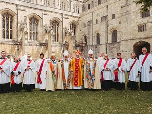 Eight new members of the clergy ordained at Winchester Cathedral
