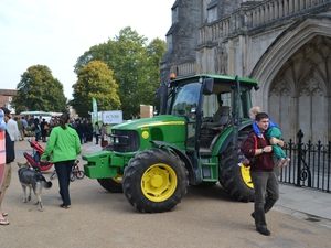 HAMPSHIRE HARVEST WEEKEND GOES GREEN