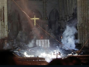 Comments and Prayer in Response to Notre Dame